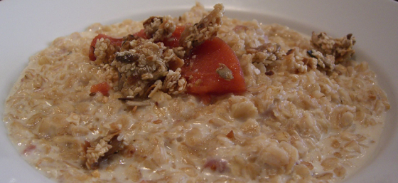 Oatmeal Porridge by Alpha