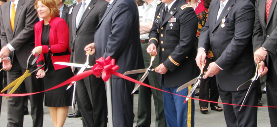National Geospatial-Intelligence Agency Ribbon Cutting by US Army Corps of Engineers, Carter Law Firm, Ruth Carter