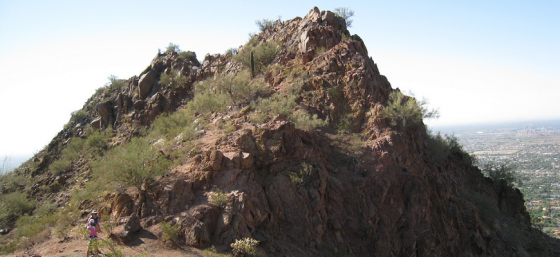Cholla Trail Landmark - Camelback Mountain by Dru Bloomfield - At Home in Scottsdale