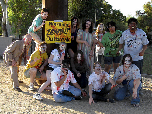 Zombathalon - Zombie Outbreak Warning! by Moriartys from Flickr
