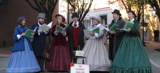 Coventry Carolers by moonlightbulb from Flickr