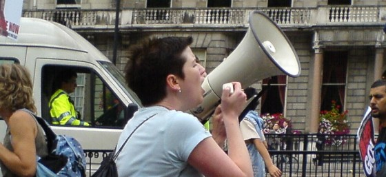 and bullhorns by mikeinlondon from Flickr
