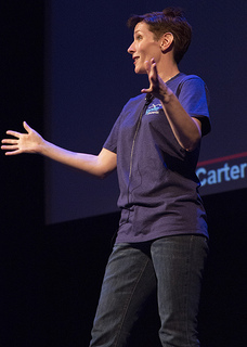 Speaking at Ignite Phoenix #14 by Tom Stokes from Flickr (Creative Commons License)