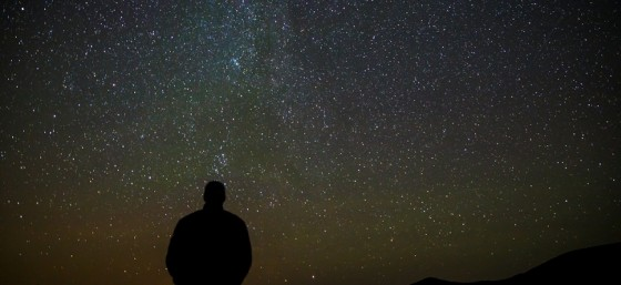Dave Checking out the Perseid Meteor Shower at 10,000 Feet by Dave Dugdale from Flickr (Creative Commons License)