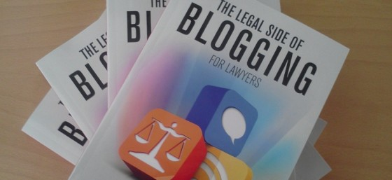 Legal Side of Blogging for Lawyers for blog post