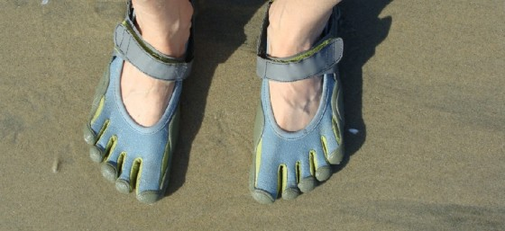 My Vibram Fivefingers by Lavender Dreamer from Flickr (Creative Commons License)