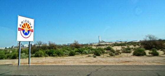 Welcome to Arizona! by Fred Miller from Flickr (Creative Commons License)