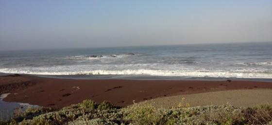 Beach along Highway 1