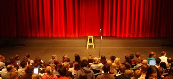 Audience at Humanities Theatre by Mohammad Jangda from Flickr (Creative Commons License)