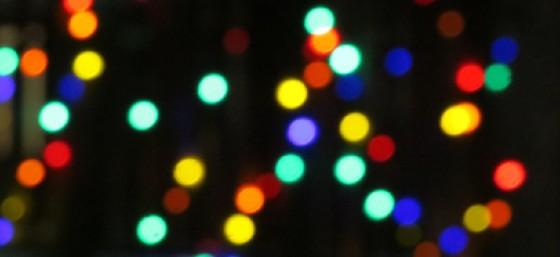 Christmas Lights by Luke Jones from Flickr (Creative Commons License)