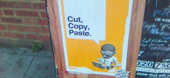 Cut Copy Paste by Arthit Suriyawongkul from Flickr (Creative Commons License)