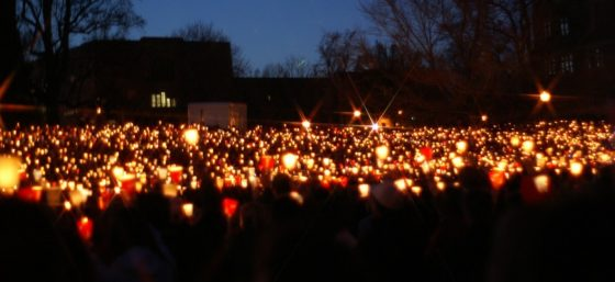 Candlelight Vigil 6 by B. W. Townsend from Flickr (Creative Commons License)