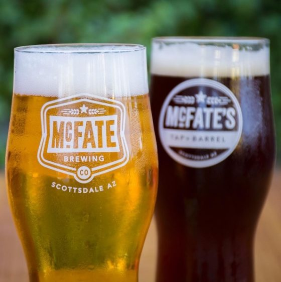 New Logo for McFate Brewing Company - opening June 25, 2016