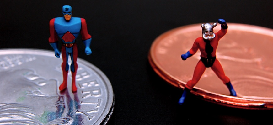 Atom vs. Ant-Man (334/365) by JD Hancock from Flickr (Creative Commons License)