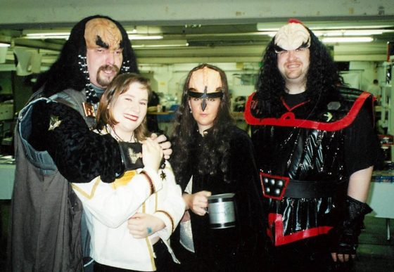 Hanging with the Klingons, Grand Slam Star Trek Convention, 2001