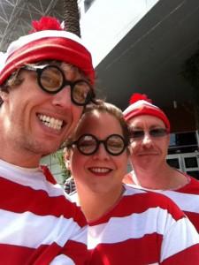 Where's Waldo Flash Mob by Jeff Moriarty