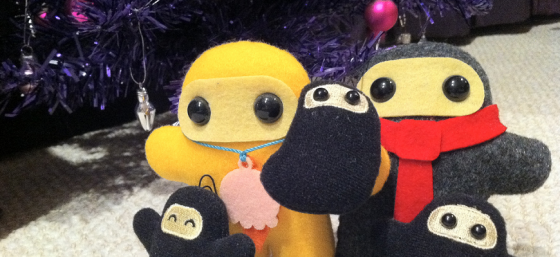 Merry Christmas from our Ninja family to yours! by thotfulspot from Flickr