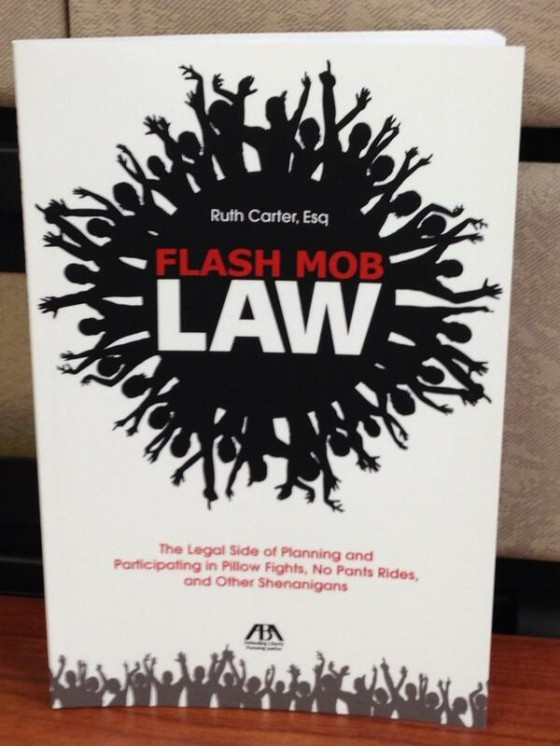 Flash Mob Law book