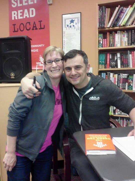 I was so excited to meet Gary Vaynerchuk in the flesh this year!