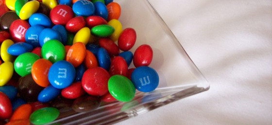 M&M by madame.furie from Flickr (Creative Commons License)