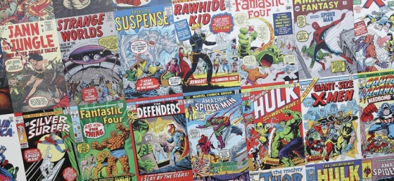 Comic Books by Sam Howzit from Flickr (Creative Commons License)