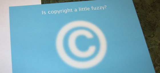 Is Copyright a Little Fuzzy? by Elias Bizannes from Flickr (Creative Commons License)