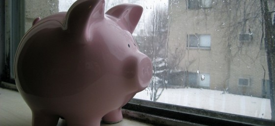 Piggy Bank Awaits the Spring by Philip Brewer from Flickr (Creative Commons License)