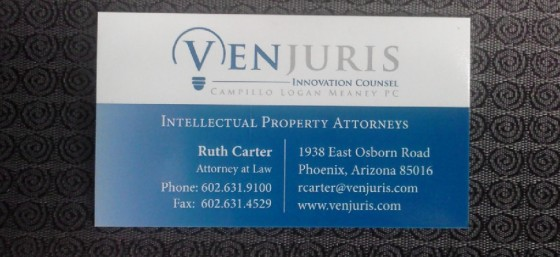 My Business Card for VenJuris!