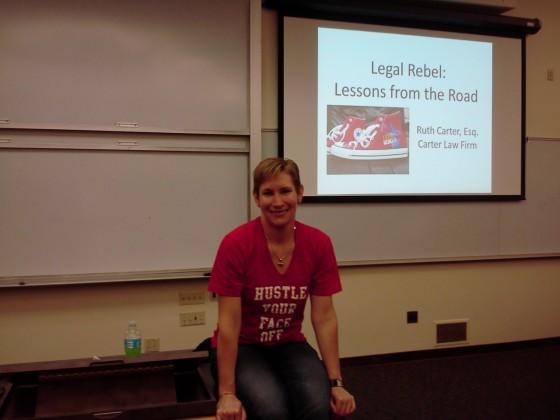 Speaking at Santa Clara University School of Law