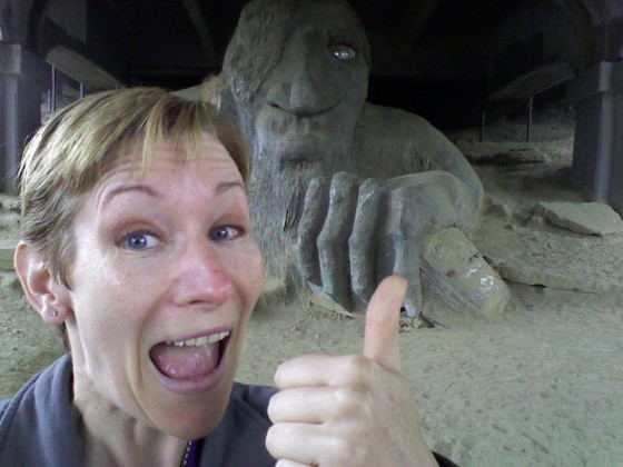 Last Day in Seattle - Visiting the Troll