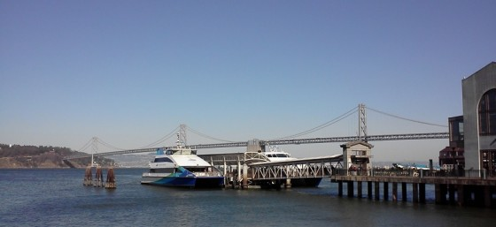 Gorgeous View of the Bay Bridge