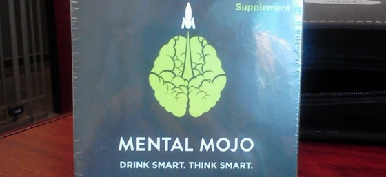My box of Mental Mojo - love this stuff! (Thanks to the owners for sending me free product!)