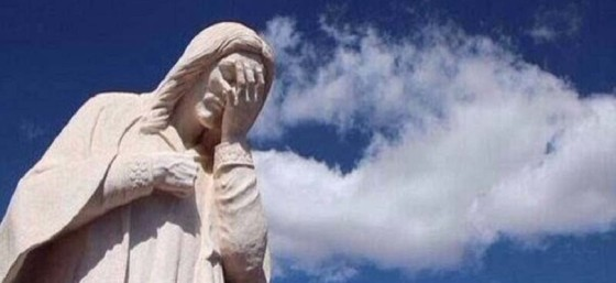 Christ-Facepalm by Doc from Flickr (Creative Commons License)