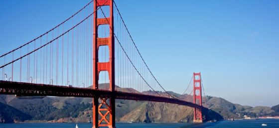 Golden Gate Bridge by Julian Fong from Flickr (Creative Commons License)