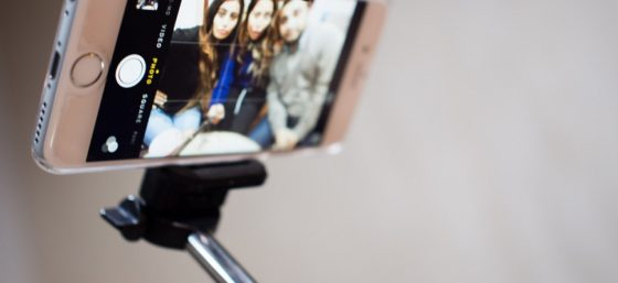Selfie Stick by R4vi from Flickr (Creative Commons License)